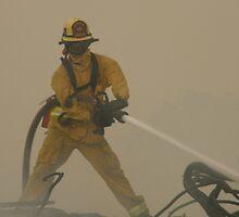 Brea fireman.  by SunKen