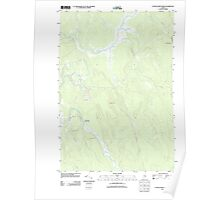 Maine USGS Historical Map Otter Chain Ponds 20110909 TM Poster