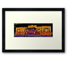 """A Palace in a Dome"" Framed Print"