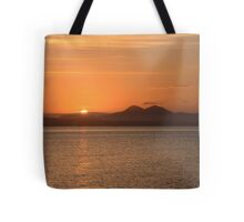 Islay: Loch Indaal Sunrise Tote Bag