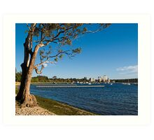 Crawley Bay, Perth Western Australia Art Print