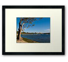 Crawley Bay, Perth Western Australia Framed Print