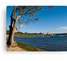 Crawley Bay, Perth Western Australia Canvas Print