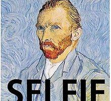 Van Gogh Selfie by nnuriasays