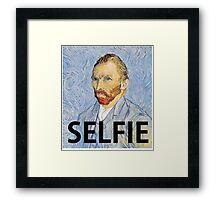 Van Gogh Selfie Framed Print