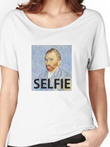 Van Gogh Selfie Women's Relaxed Fit T-Shirt