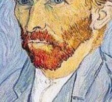 Van Gogh Selfie Sticker