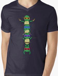 Ninja Turtle Mens V-Neck T-Shirt