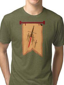 BANNER CREST SIGIL with six swords Tri-blend T-Shirt