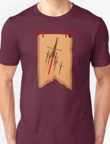 BANNER CREST SIGIL with six swords Unisex T-Shirt