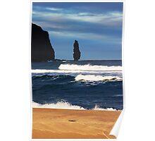 Sandwood Bay Stack Poster