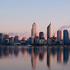 Perth at Dawn by Adrian Lord