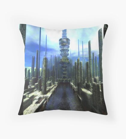Territory Channel Throw Pillow