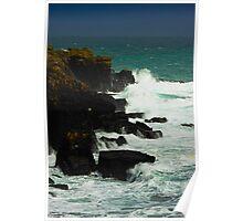 Lizard Cliffs Poster