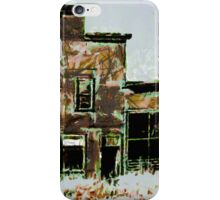 Old Hotel and Saloon. Beltrami County, Funkley, Minnesota - all products iPhone Case/Skin