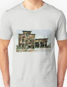 Old Hotel and Saloon. Beltrami County, Funkley, Minnesota - all products T-Shirt