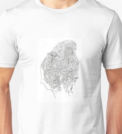 Birdcage Hair Unisex T-Shirt