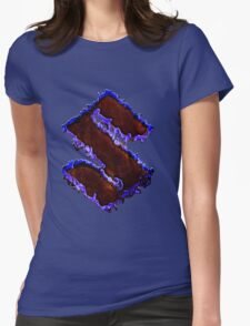 Suzuki graffiti Womens Fitted T-Shirt