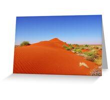 Dune Blow Greeting Card