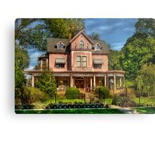 The Biggest Dollhouse Metal Print
