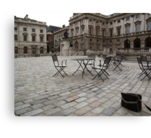 Dull afternoon, Somerset House, London Canvas Print