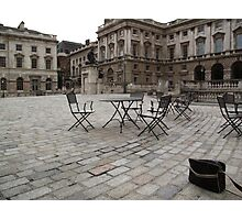 Dull afternoon, Somerset House, London Photographic Print