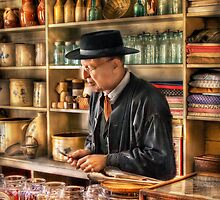 In the General Store by Mike  Savad