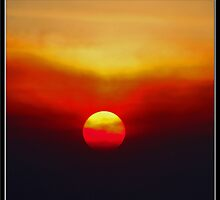Autumn Sunset: Socal Style by Chet  King