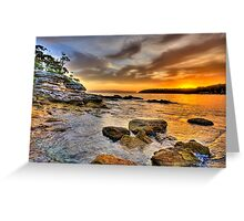 Rock On - Balmoral Beach - The HDR Experience Greeting Card