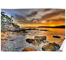 Rock On - Balmoral Beach - The HDR Experience Poster