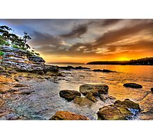 Rock On - Balmoral Beach - The HDR Experience Photographic Print