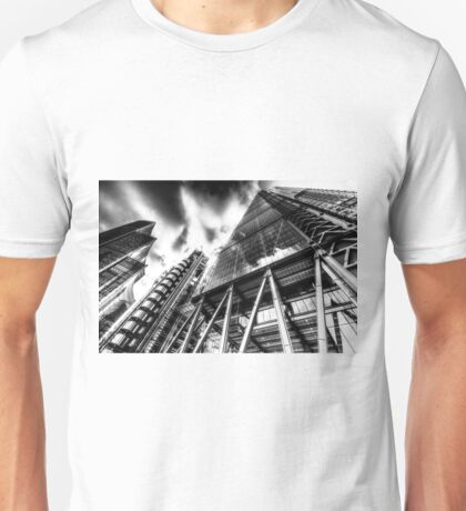 The Lloyd's of London Cheesegrater and Willis Group London Unisex T-Shirt
