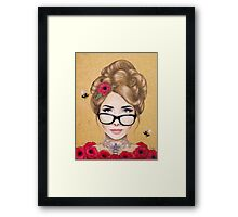 Blood Honey Framed Print