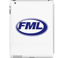 FML - JML Parody  iPad Case/Skin