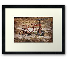 Old Tricycle Framed Print