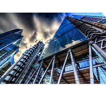 The Lloyd's of London Cheesegrater and Willis Group London Photographic Print