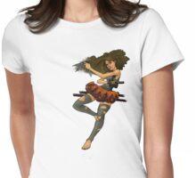 Duke Ikineth Womens Fitted T-Shirt