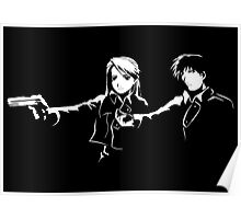 Fullmetal Alchemist / Pulp Fiction Poster