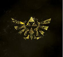 The Golden Power - Triforce by Fabiola Rossetto