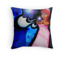 Balloons with love Throw Pillow