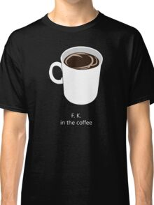 Coffee Premonition Classic T-Shirt