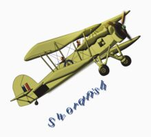 British WWII Swordfish Biplane T-shirt and leggings Kids Clothes