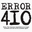 Error 410. Gone.  by FrontierMM