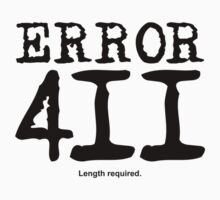 Error 411. Length required. by FrontierMM