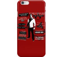 Desmond Miles Quotes iPhone Case/Skin