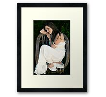 dreaming of prince charming Framed Print