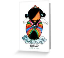 Rainbow - Angel of Hope Greeting Card