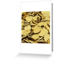 A pile of money Greeting Card