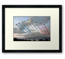 Red Arrows - Arrival Framed Print
