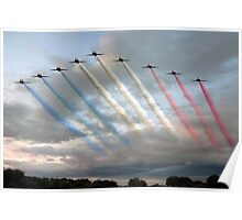 Red Arrows - Arrival Poster